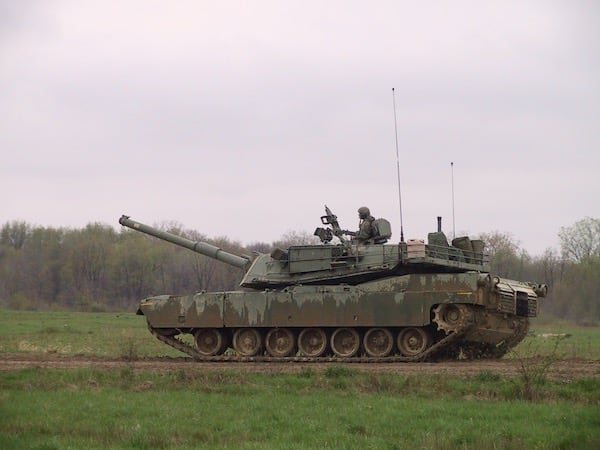 M1 Abrams Tank of Bco 1-107th Armor