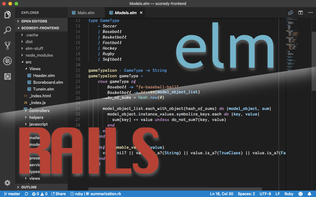 Changing Dev Stacks: Ruby on Rails to Elm on Feathers