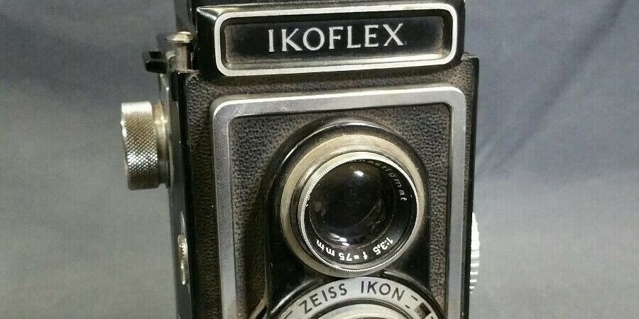 The Zeiss Ikon Ikoflex Ia which I found on ebay